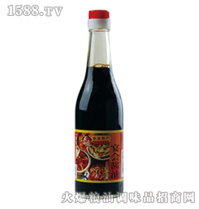 天立宴会酱油350ml