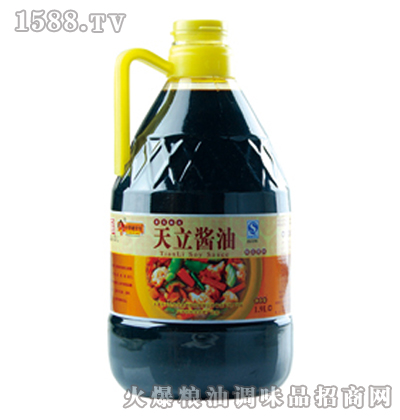 天立桶酱油1.9L