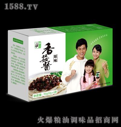 仲景香菇酱盒装(原味)