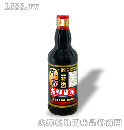 500ml特级海鲜酱油