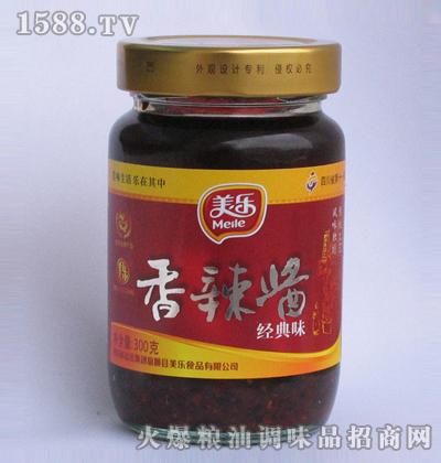 美乐香辣酱(经典味)300克