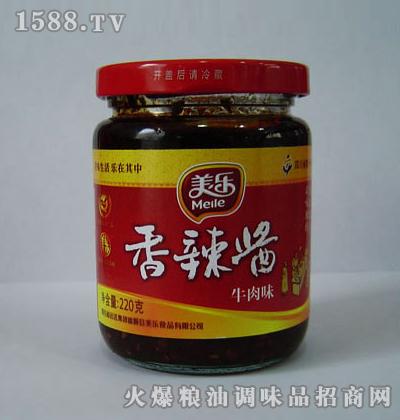 美乐香辣酱(牛肉味)220克