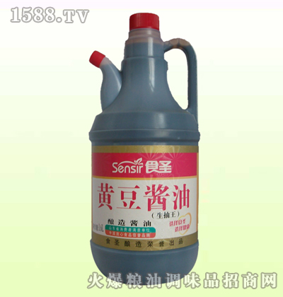 1.6L黄豆酱油