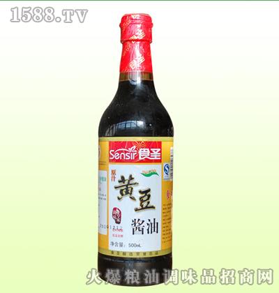 黄豆酱油450ml