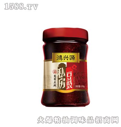 鸿兴源私房豆豉--葱香味210克