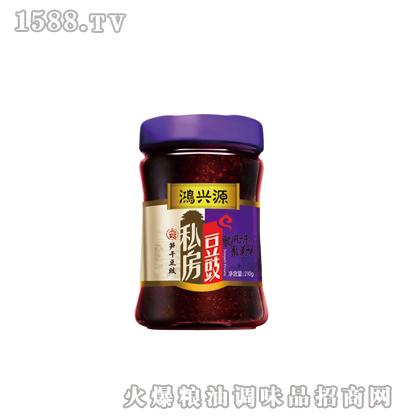 鸿兴源私房豆豉--笋干味210克