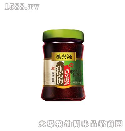 鸿兴源私房豆豉--姜汁味210克