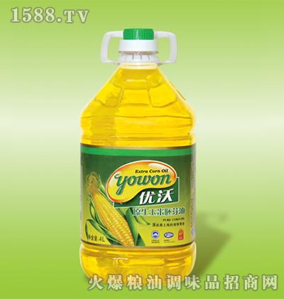 优沃原生态玉米胚芽油