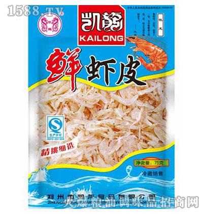 凯龙鲜虾皮75克