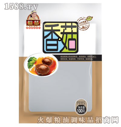晗梦-香菇100克