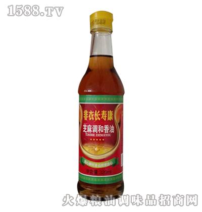 非衣长寿康芝麻调和香油320ml