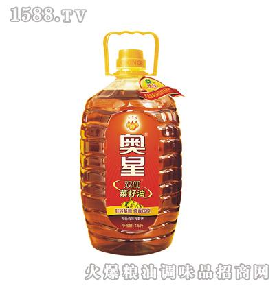 奥星 纯香压榨菜籽油4.5L