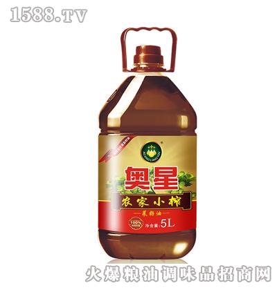 奥星 农家小榨菜籽油5L