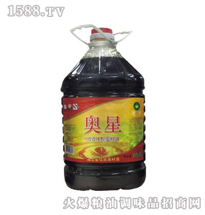 奥星 浓香压榨菜籽油16.3l