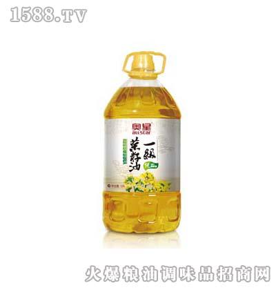 奥星 一级压榨菜籽油5L
