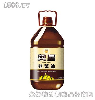 奥星新老菜油5L