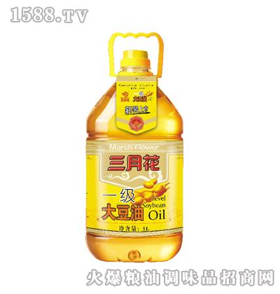 三月花-一级大豆油