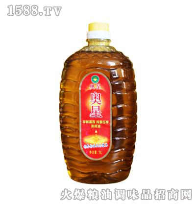 纯香压榨菜籽油1L