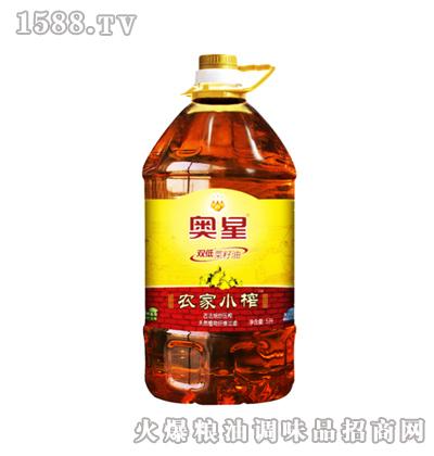 农家小榨菜籽油5L