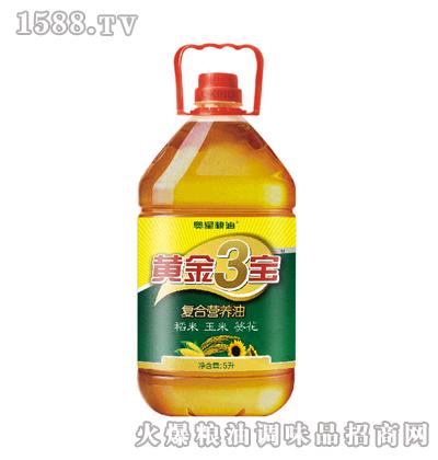奥星黄金三宝食用油5L
