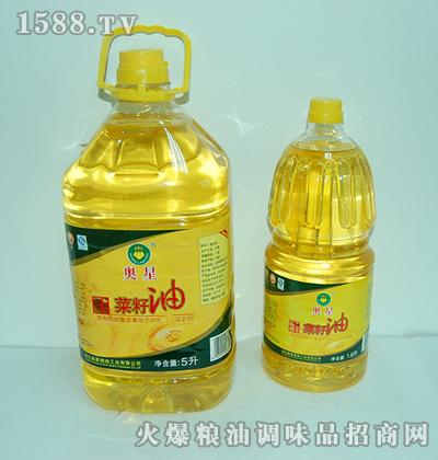 奥星菜籽油(1×2透明装)