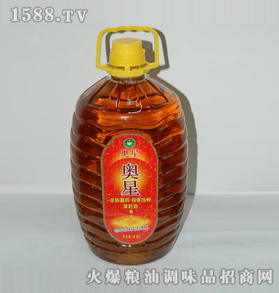 奥星非转基因纯香压榨菜籽油