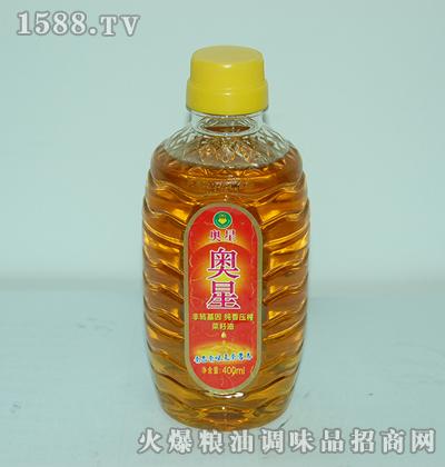 奥星非转基因纯香压榨菜籽油(小)