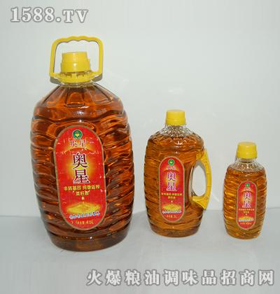 奥星非转基因纯香压榨菜籽油(1×3)