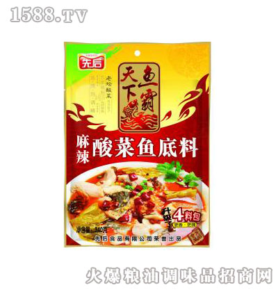 麻辣酸菜鱼调料340g