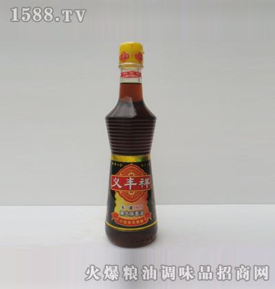 义丰祥黑芝麻油350ml