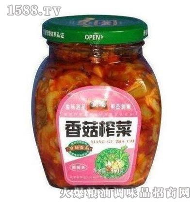 350g香菇榨菜