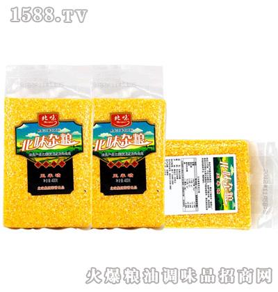 北味玉米碴400g