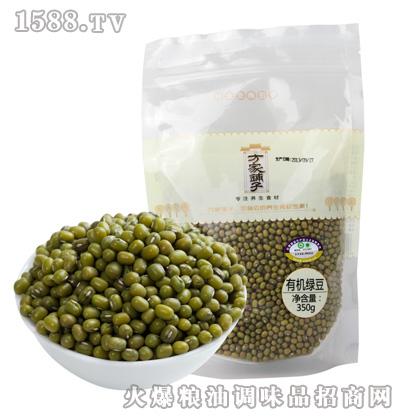 有机绿豆350g