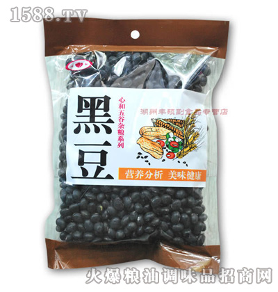400g优质东北绿心黑豆