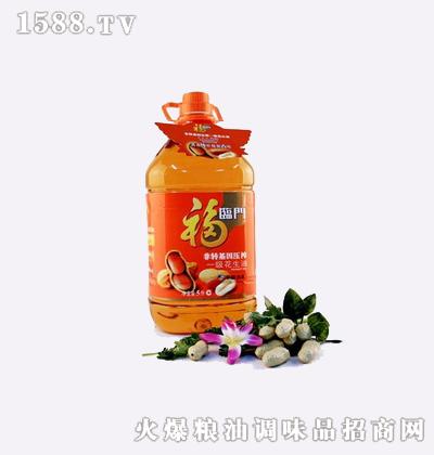 压榨花生油(瓶装5L)