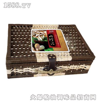 佳品堂山珍汇(竹编礼盒)|双行线(北京)商贸有限