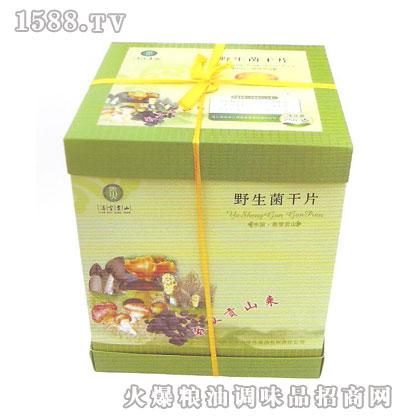 保山野生菌干片盒装