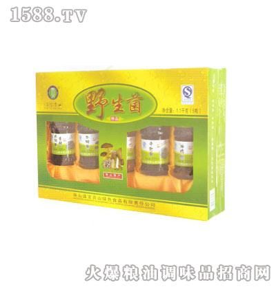 220克5瓶装野生菌礼盒