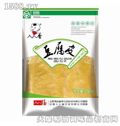 人人福豆腐皮250g