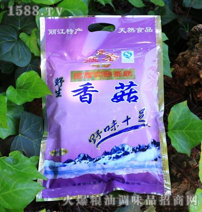 藏圣独立大袋野生香菇