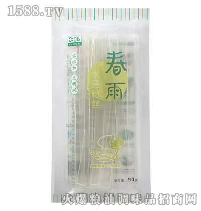 德润京一根春雨水晶90g-纯干粉