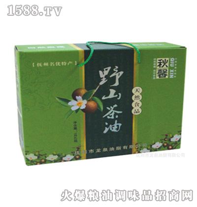 龙泉秋馨-纯有机山茶油