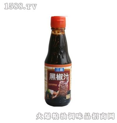 中圣三岛-黑椒汁240g