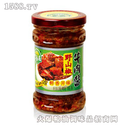 吉香居【188+30g野山椒牛肉酱】