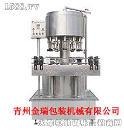 金瑞GFP-12型单室重力式全自动负压灌装机