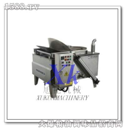 电加热半自动油炸机