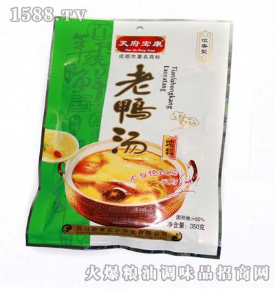 宏康鲜香老鸭汤炖料350g