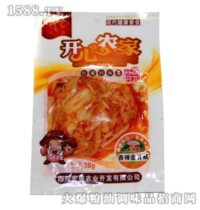宏康香辣金针菇18g