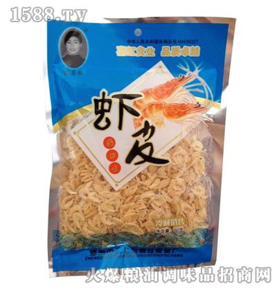 苗喜红鲜虾片60g