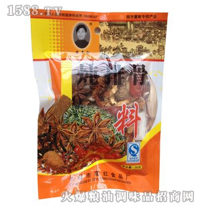 苗喜红炖排骨料30g